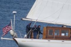 Captain Jonny, Time Neal, Nina Goddeau.  Photo by Jim Green